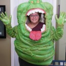 Awesome Homemade Slimer Costume from Ghostbusters