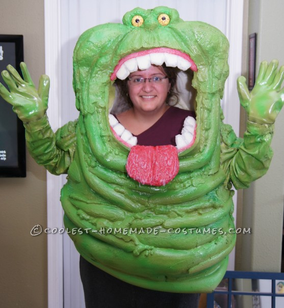 finished SLIMER costume