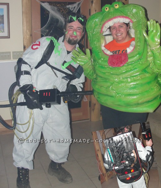 Dr. Venkman and SLIMER