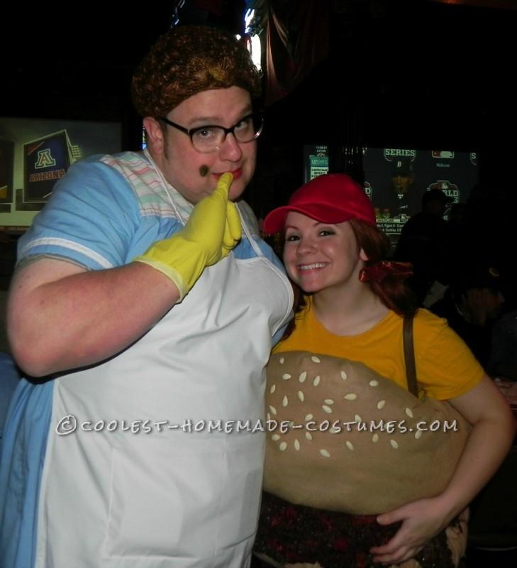 Lunch Lady & Sloppy Joe!