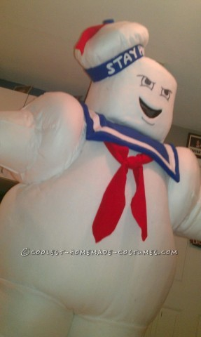 When I suggested to my fiance, Jaimi, that she should be Stay Puft Marshmallow Man for Halloween, her eyes lit up and she immediately was pumped abou