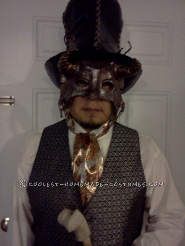 Steampunk Masquerade for a Man