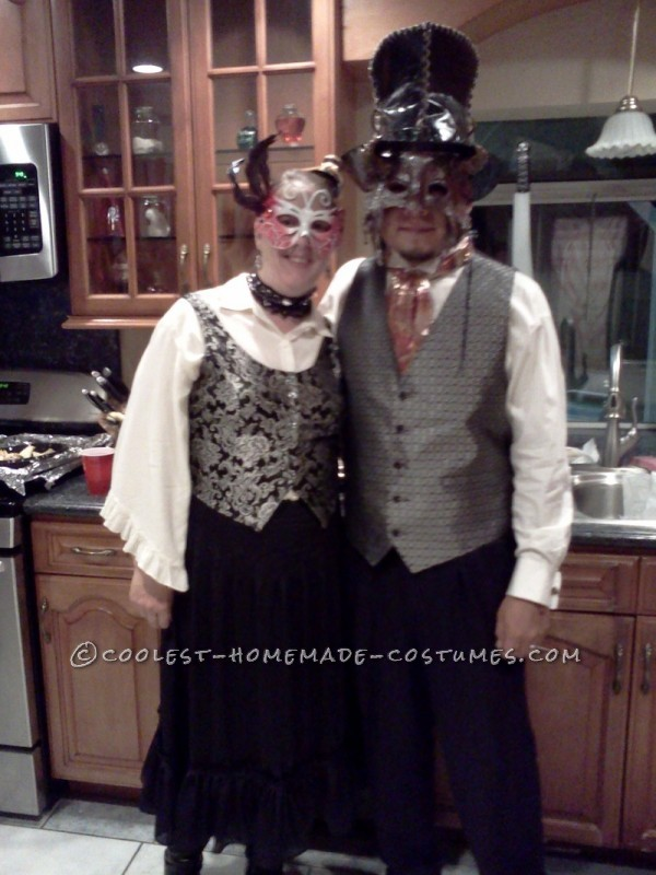 Steampunk Masquerade for a Man - 2