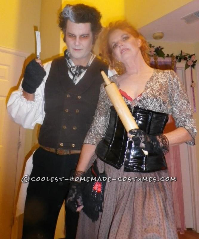 Mr. Todd and Mrs. Lovett