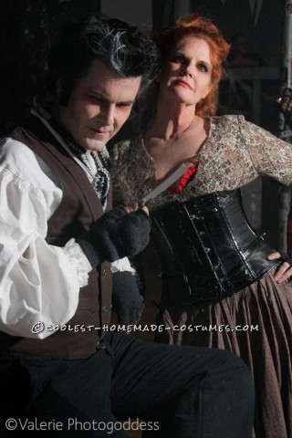 Coolest Sweeney Todd and Mrs. Lovett Couple Halloween Costume