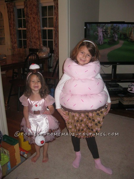 Sweetest Chocolate Cupcake Halloween Costume for a Girl
