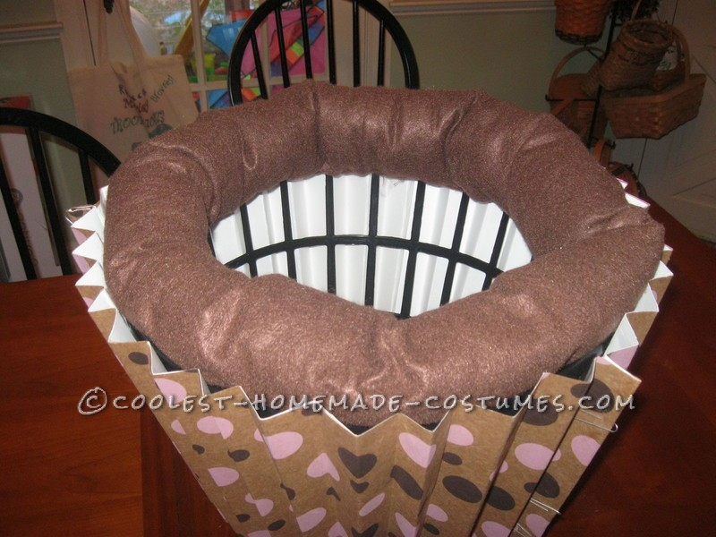 Sweetest Chocolate Cupcake Halloween Costume for a Girl - 1