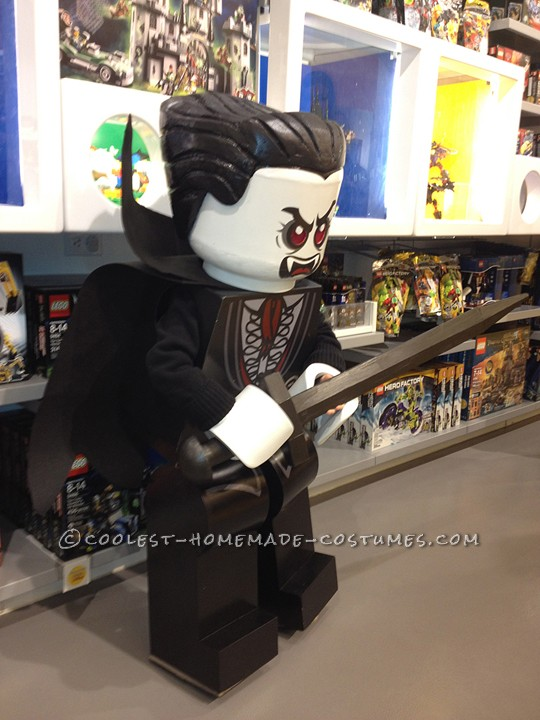 Awesome Homemade Minfigure Costume: The Awakening of Lego Lord Vampyre - 1