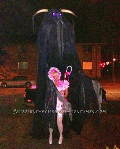The Beast, Wraith, Soulsucker Costume on Stilts
