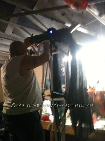 The Beast, Wraith, Soulsucker Costume on Stilts - 4