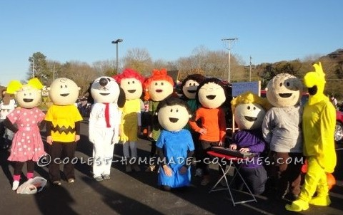 The Best Homeade Peanuts Gang Costume