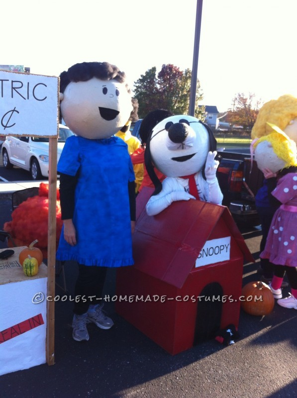 The Best Homeade Peanuts Gang Costume - 3