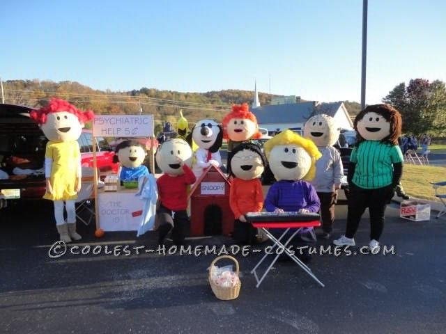 The Best Homeade Peanuts Gang Costume - 4