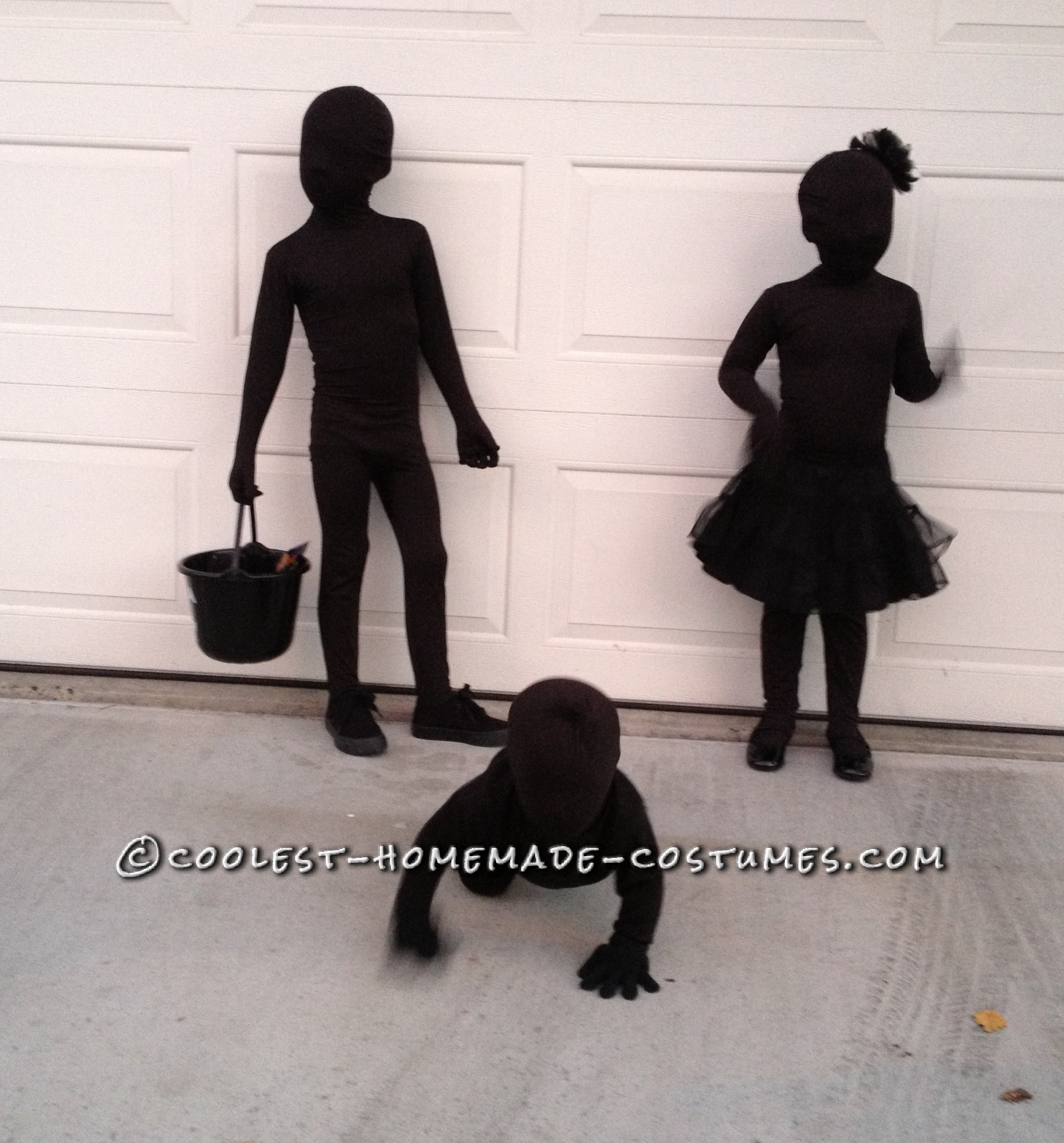 The Coolest and Easiest Costumes on Earth - Shadows!