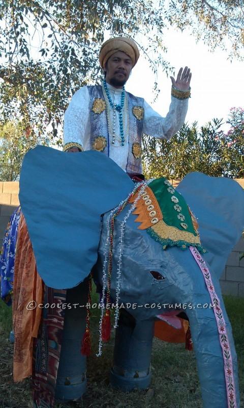 The Elephant Man Optical Illusion Costume