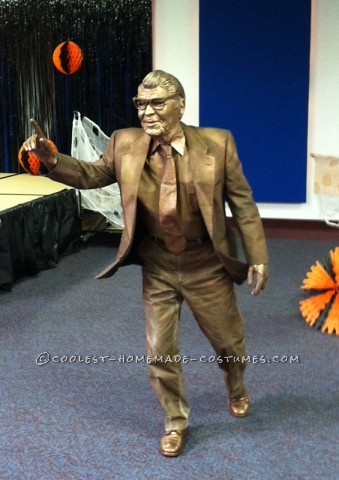 Original Homemade Costume: The Joe Paterno Statue