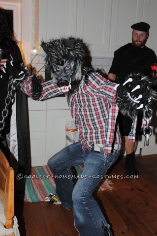 The Mad Werewolf Homemade Costume