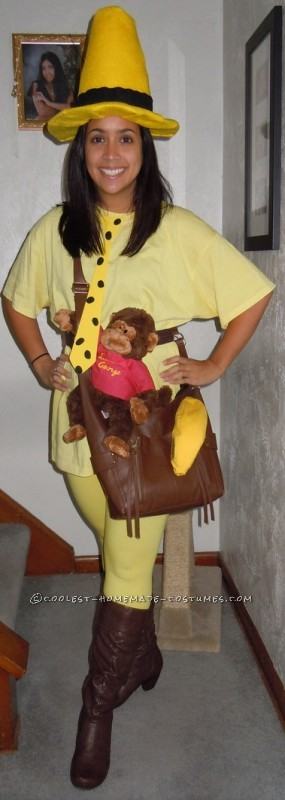 Fantastic Homemade Costume: The Man in the Yellow Hat