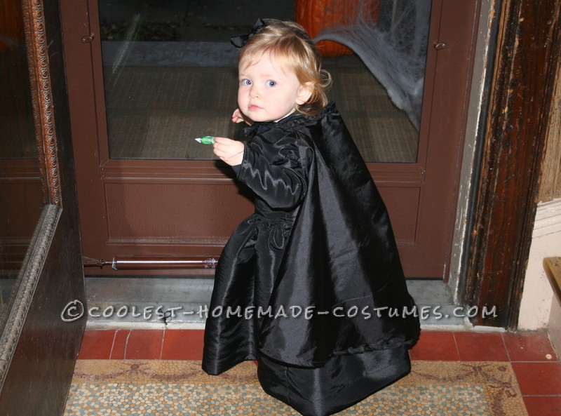Pregnant Mom and Baby Couple Costume: Wicked Witch of the East and House that Landed on Her