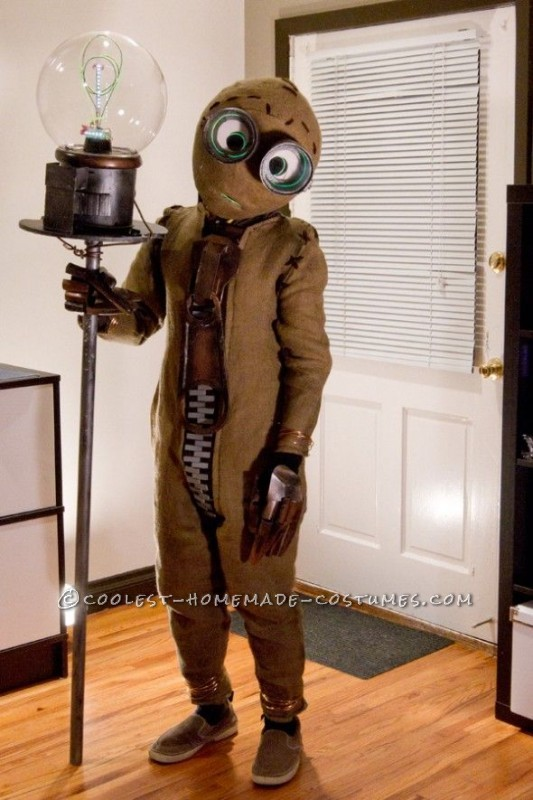Creative Tim Burton's 9 the Movie Costume