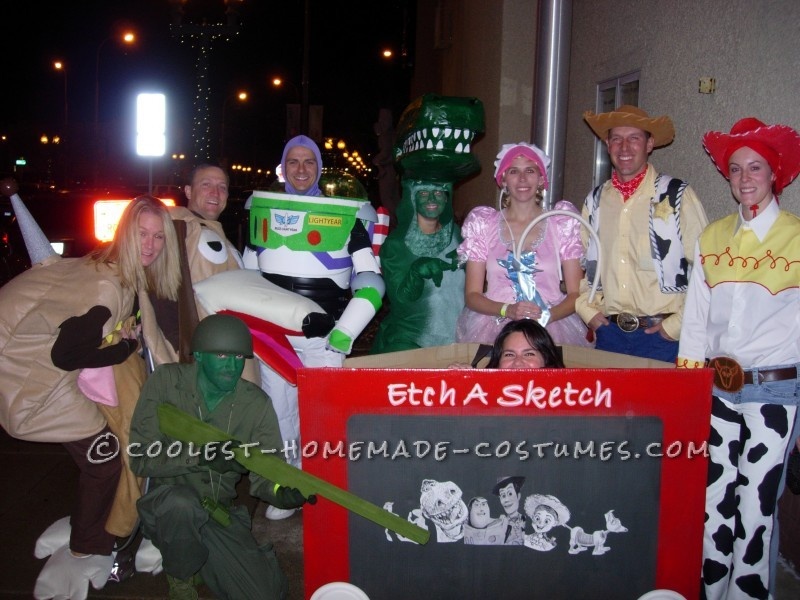 Toy Story Group Halloween Costumes