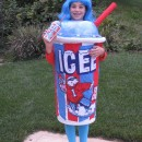 The inspiration:It all started with a blue wig that my daughter thought matched the color of the blue Icee drink. (She is a Katy Pery lover