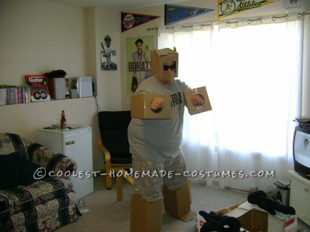 Homemade Transformers Couple Costume - 8