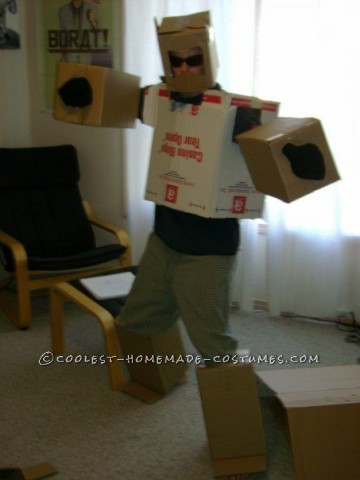 It was Halloween 2007. Living in Lethbridge, AB at the time and going to school. My room mate and myself wanted to create costumes that would win us