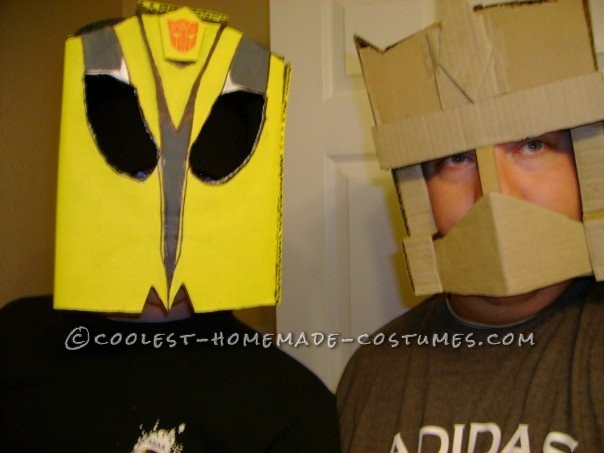 Homemade Transformers Couple Costume - 5