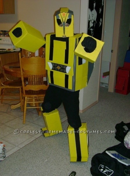 Homemade Transformers Couple Costume - 4