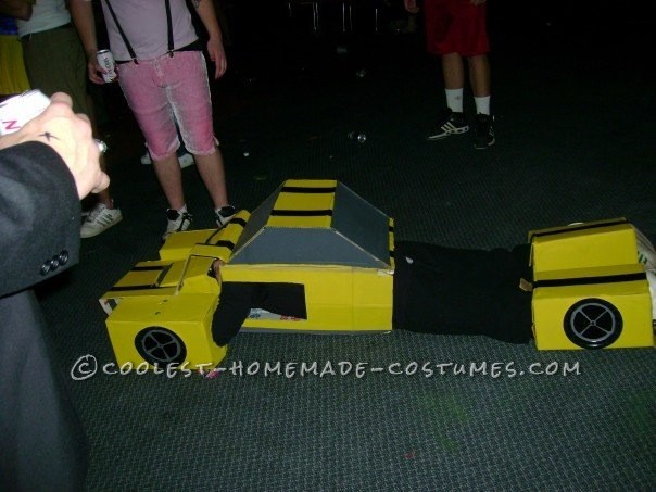 Homemade Transformers Couple Costume - 3