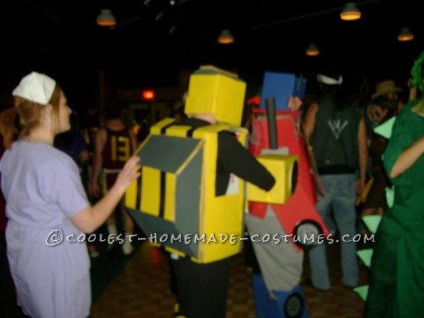 Homemade Transformers Couple Costume - 2