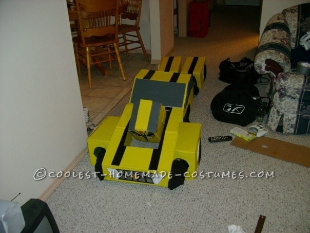 Homemade Transformers Couple Costume - 1