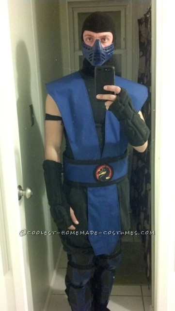 Awesome MK Costume - Tribute to Sub Zero