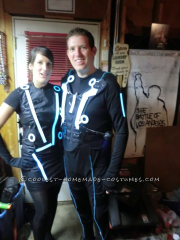 Glowing Couple Costume from Tron: Sam Flynn and Quorra