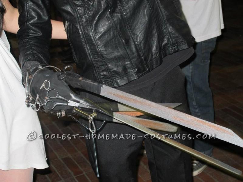 Unimaginable Edward Scissorshands Homemade Costume