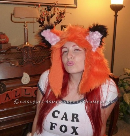 Original Car Fox Costume from the CARFAX Commercials