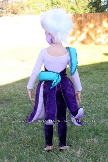 Homemade Ursula The Sea Witch Costume for a Girl - 1