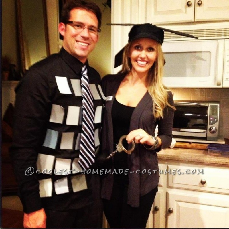 Original 50 Shades of Grey (PG Version) Last-Minute Couple Costume - 1