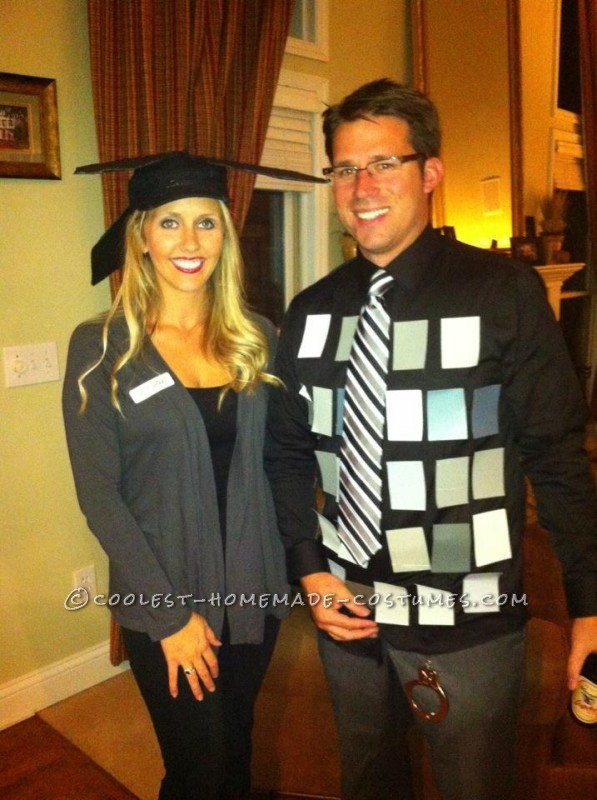 Original 50 Shades of Grey (PG Version) Last-Minute Couple Costume