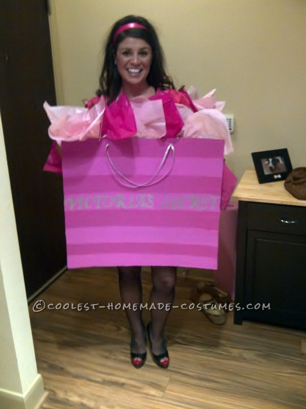 Cool Costume Idea: Victoria's Secret Bag!