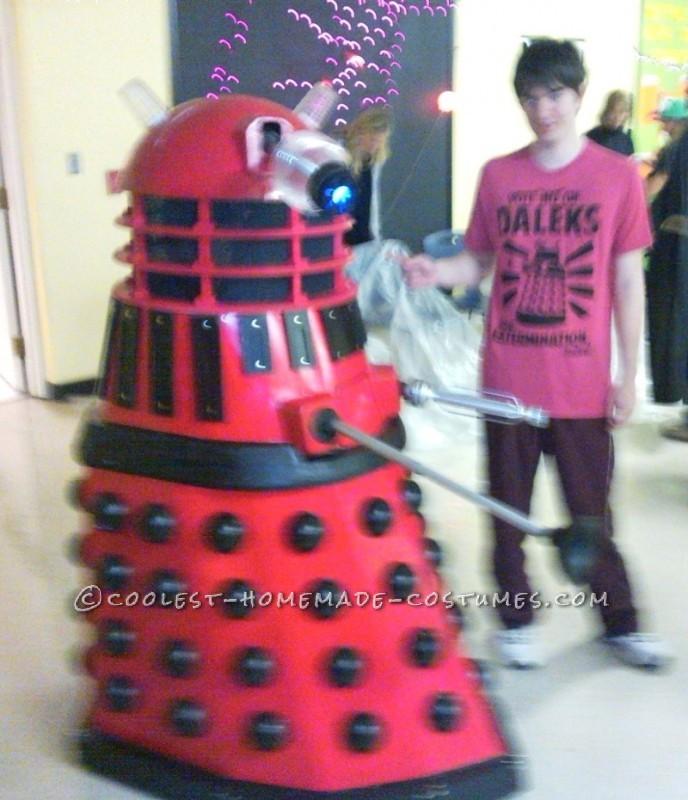 Dalek Alec with Big Brother Cameron