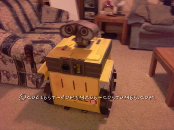 Coolest Wall-E Homemade Halloween Costume