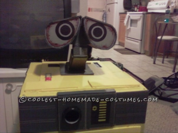 This Is Halloween 2009's costume. I watched wall-e 3 weeks before Halloween and it instantly made me decide that this needed to be my costume. I sta