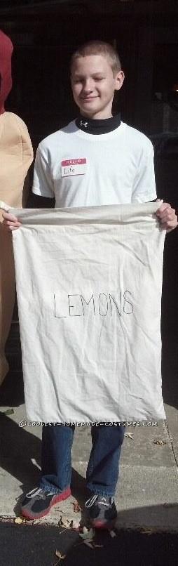 When Life Gives You Lemons Wordplay Costume