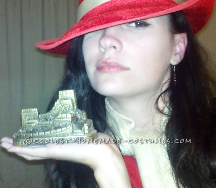 Original Homemade Costume: Where in the World is Carmen Sandiego?: Who didn't love searching the world for Carmen Sandiego growing up? The mystery, the intrigue, the geography lessons. Those were the years when