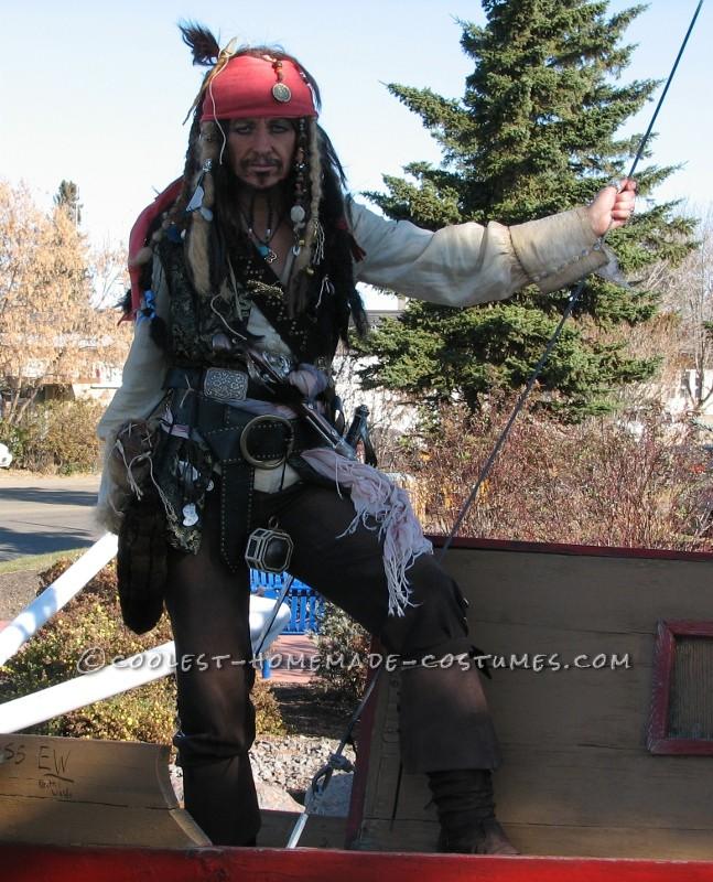 Homemade Captain Jack Sparrow Costume Where S The Rum
