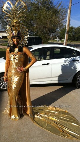 Coolest Women's Egyptian Statue Costume