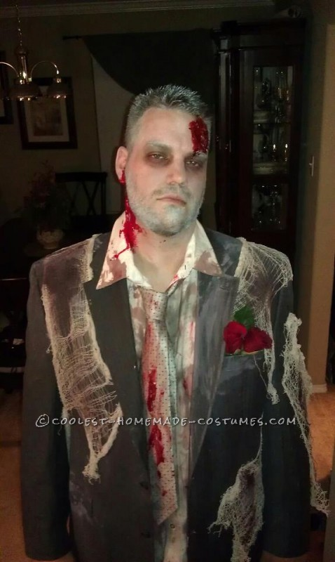 Zombie Bride and Groom Halloween Couple Costume - 3