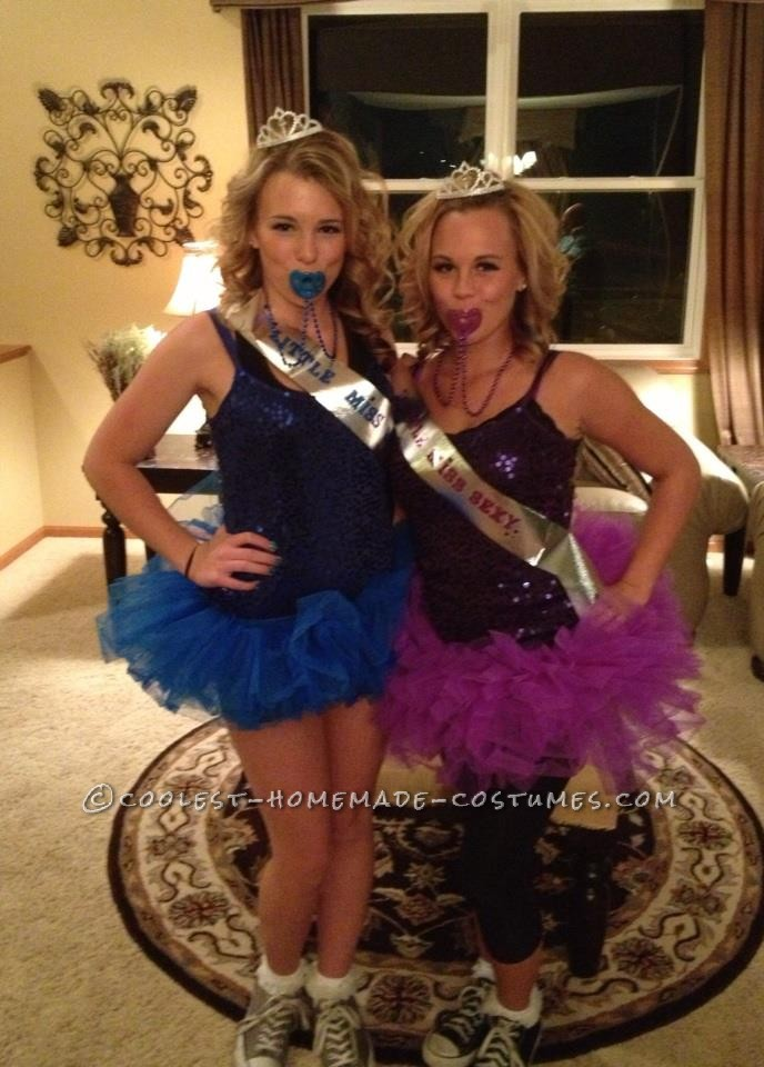 Last-Minute Adorable Toddlers and Tiaras Costumes